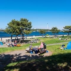 海の公園 バーベキュー場