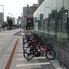 シェアサイクルポート H1-51.豊洲交通広場東