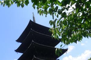 京都、東寺で楽しいお参りを…!