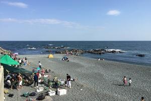 海岸でBBQをするならやっぱり大磯でしょ。