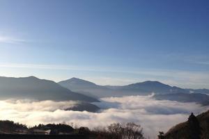 高松空港からUB1ウマバーへ〜うどん、山、川、温泉、雲の上