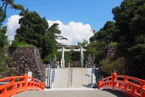 [甲府]武田神社を参拝したら甲府駅周辺で まち歩き~