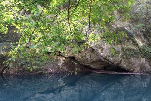 広島県神石高原町。国定公園帝釈峡で癒しのカヤックツアー。90分の湖上デート♡