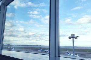 蒲田→品川で用事をすませたら、羽田空港の展望cafeでホッとひといき