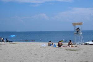 いざ、白ひげビーチで湖水浴!夏は車に乗って琵琶湖へドライブ