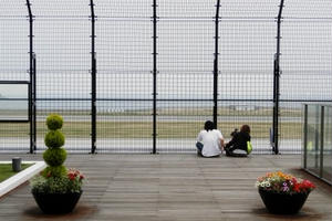 飛行機に乗らなくても海を眺めてノホホンと寛げる!マリンエア神戸空港でマッタリする一日