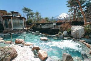 〜ひとり旅〜冬の山梨、富士山と露天風呂