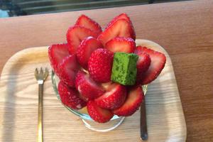 南阿蘇溢れる苺パフェを食べに行こう💕