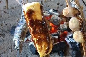 田楽を食べて、神秘的な熊野座神社で軽くトレッキング!締めはドルチェピッツアで締めくくり(^O^)/