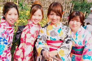京都女子旅行♡着物を着てフォトジェニック間違いなし✨👘