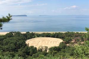寛永通宝の巨大砂絵を見に行くと16億円ゲットかも!?