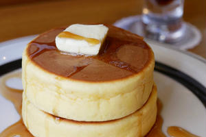 【東京】純喫茶と分厚いホットケーキ