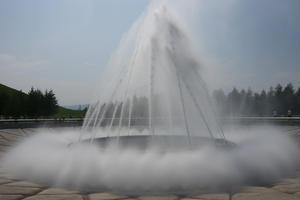 イサム・ノグチのモエレ沼!見たこともない海の噴水ショー