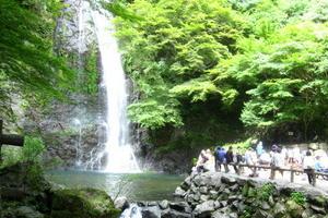 大阪でマイナスイオンシャワーを浴びよう
