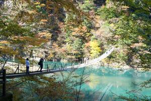 静岡・寸又峡をハイキング