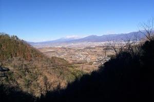 織田信長が愛馬で走った富士山西麓の中道往還