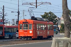 伊予鉄道で行く、松山市内観光♪