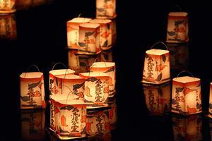 京都 大文字焼きと灯籠流しを見に行く夏。