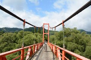 "Photogenic spots in Miyama - ""colorful bridges"""