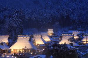 【京都】美山の雪灯廊を満喫!