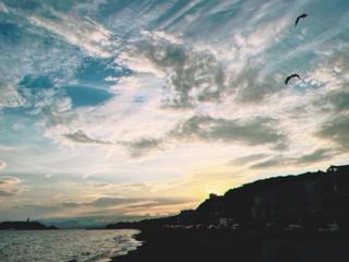 しちりがはま 七里ヶ浜海岸