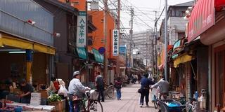 昭和レトロな雰囲気漂う美野島商店街でゆったりまったり。