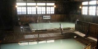 スカッと酸ヶ湯で混浴(^人^)