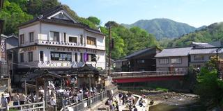 源泉温度は98度・日本一ともいわれる熱い源泉、湯村温泉を探索するプラン