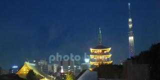 【東京都】浅草の御朱印と夜の浅草寺