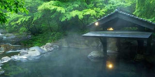 とびっきりの温泉+食事でアンチエイジング!