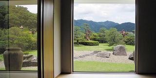 昔懐かしい江の川の鮎とりなど絵画で紹介、今井美術館