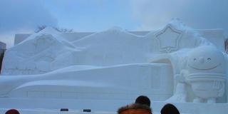 雪まつり*雪あかり欲張りコース。