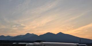 日の出と、美術館と、ドライブと、長野の旅。