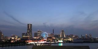 午後から横浜中華街あたりをお散歩して夜景を見る♡