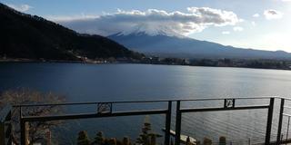 【新春】河口湖から雪化粧の富士山を望む!今年も大吉な1泊2日旅