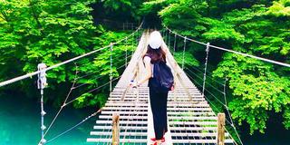 夢の吊り橋✨ 「死ぬまでに一度は渡りたい吊り橋」