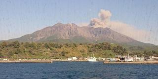 大迫力の桜島と鹿児島旅のスタート