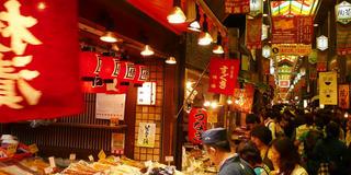 錦市場通りで楽しむツウな京都