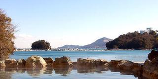 鳥羽志摩の絶景 朝日を見る露天風呂