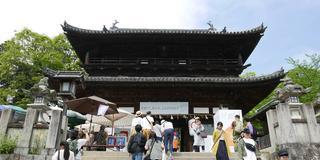 金刀比羅宮に立ち寄り、四国八十八ヶ所満願を目指す旅