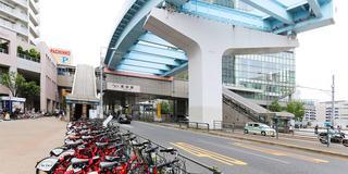 豊洲近辺のシェアサイクルポート