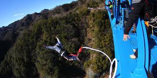 高さ100m!スリル満点!日本一のバンジージャンプに挑戦しよう!!!