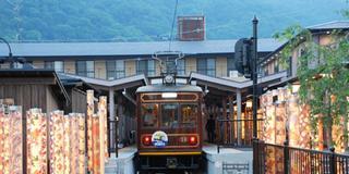 京福電鉄沿線をゆっくり楽しむ