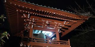 年末年始恒例!除夜の鐘、串カツ、日の出、そしてラストはぜんざいで締めるのだ。