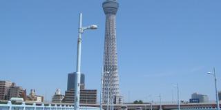 名を在原業平の歌に由来する東京スカイツリーのお膝元-言問橋