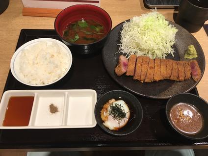 牛カツ専門店 京都勝牛 名古屋伏見