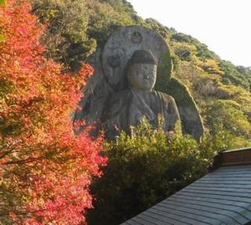 鋸山で紅葉を満喫!