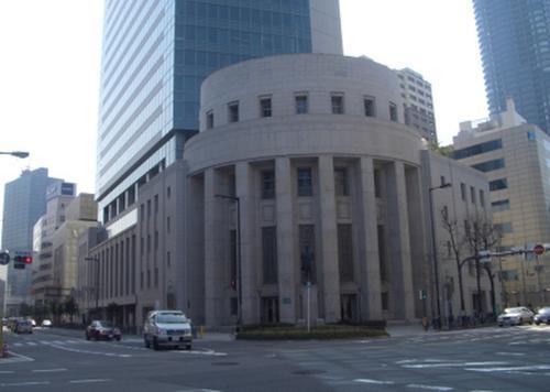 金融の中心地・北浜