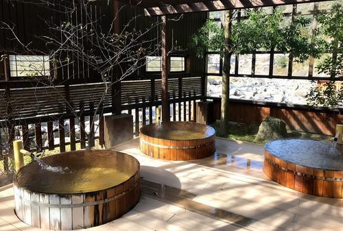 阿蘇郡小国町 杖立温泉の立ち寄り湯♨