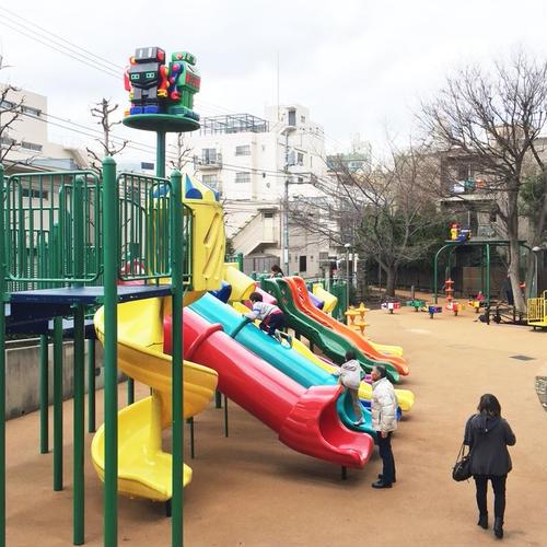 ロボット(ロボロボ)公園(正式名 さくら坂公園)